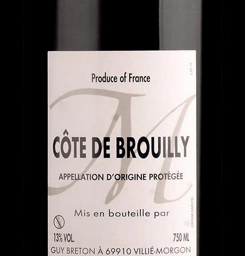 Domaine Guy Breton, Cote de Brouilly 2019, 0,75 l